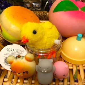 {💄3~$25} super cute and colorful Squishies
